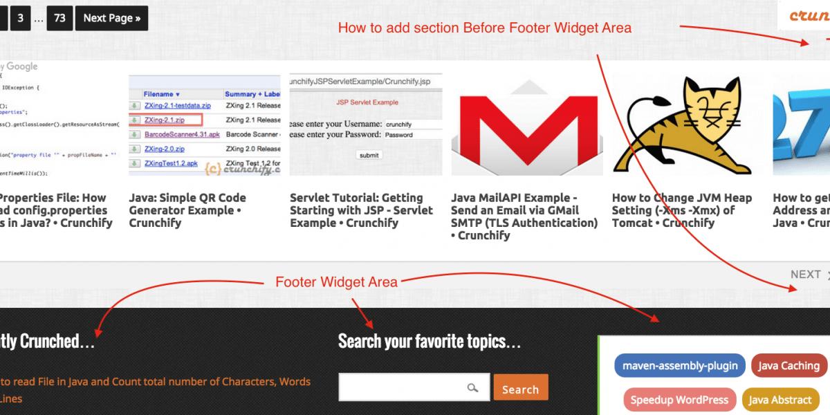 How to add an Extra Widget Section Before Footer Widget Area – Genesis WordPress Framework