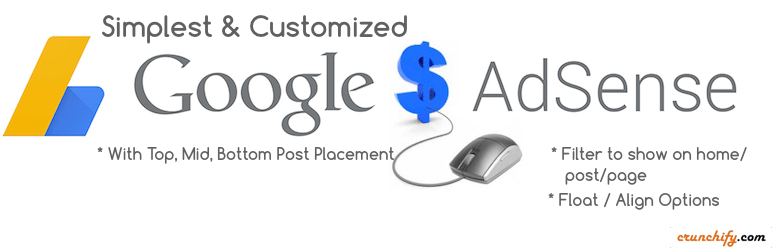 Google Adsense Ads Manager by Crunchify