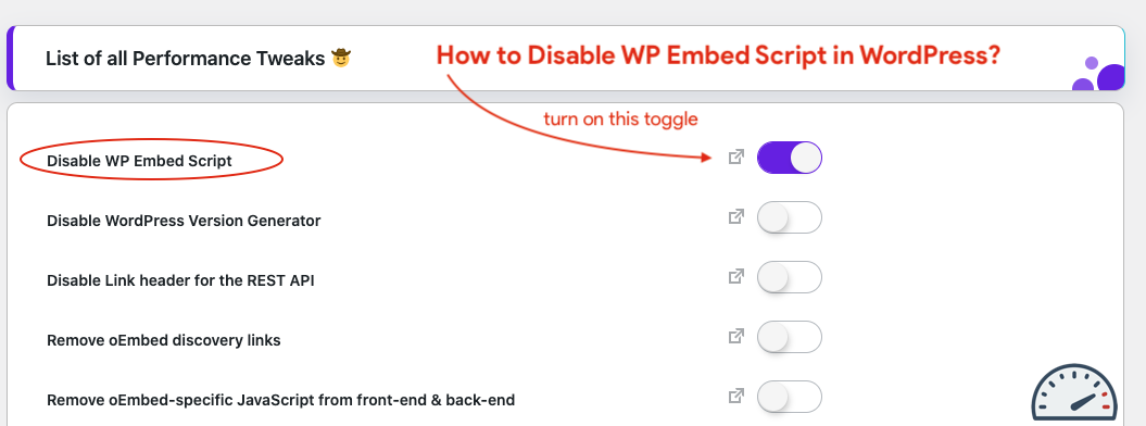How to Disable WP Embed Script in WordPress?