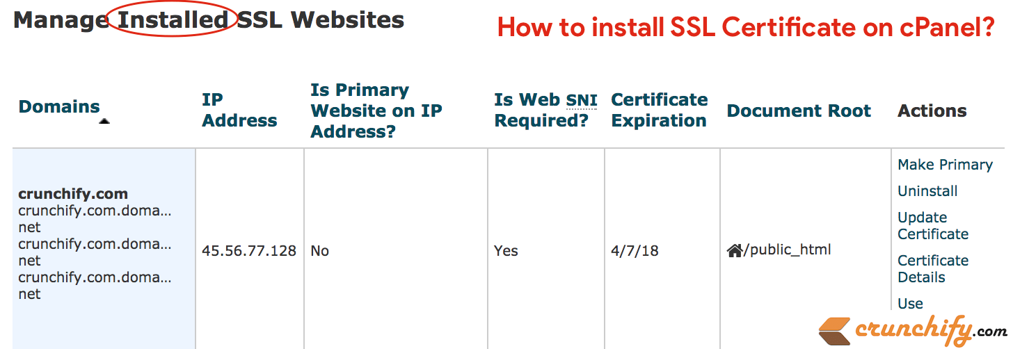How to Install SSL Certificate on cPanel for your WordPress