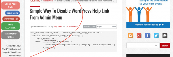 How to Hide Sidebar only on Home, Archive page – Genesis WordPress Framework