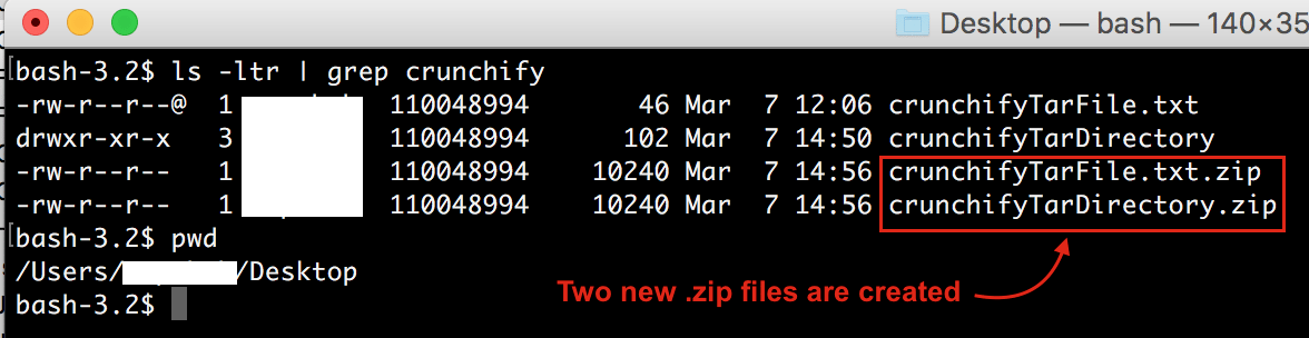 crunchify*.zip file created by Java program
