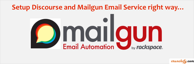 Mailgun and Discourse Email Setup