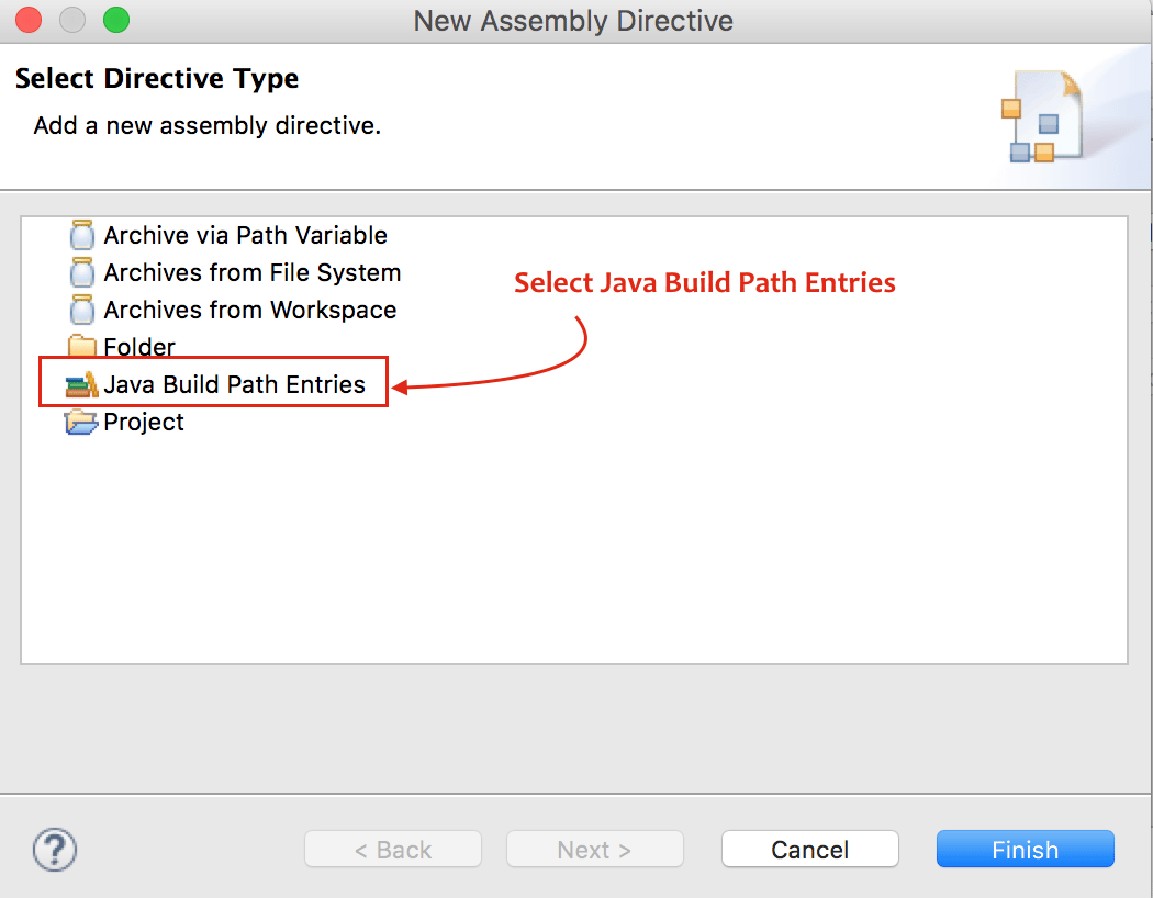 Select Java Build Path Entries - Eclipse - Crunchify