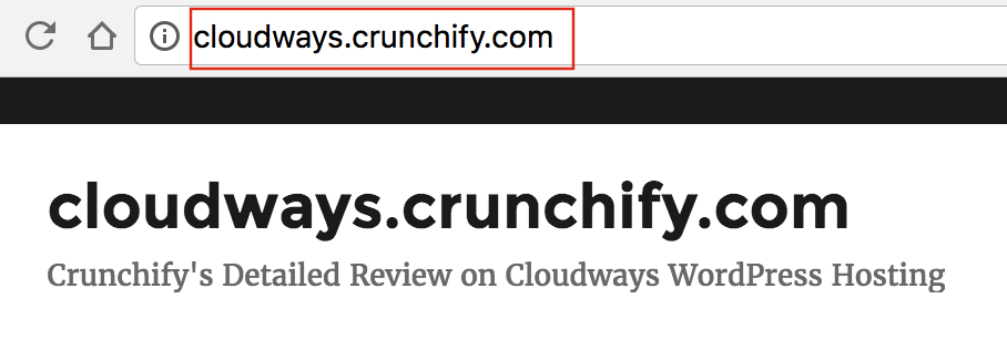 Cloudways.crunchify.com Site Migration Tips