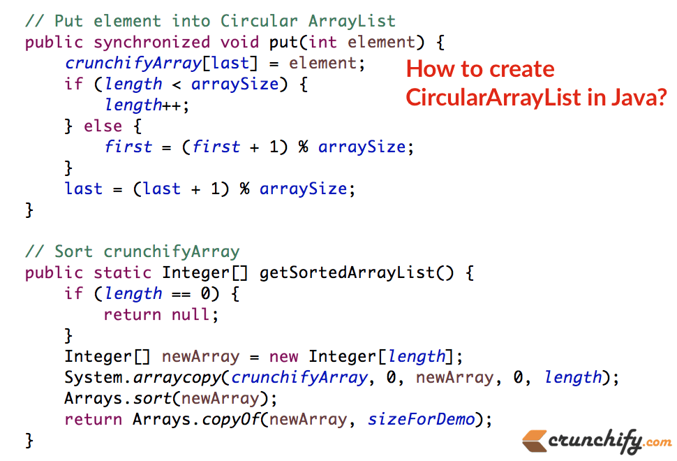 java-circulararraylist-example