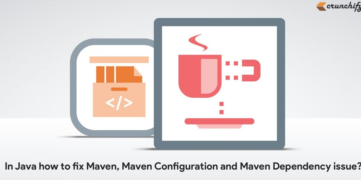 Fix any Maven issue in Eclipse: 'maven clean install' to fix any Java Dependency Issue