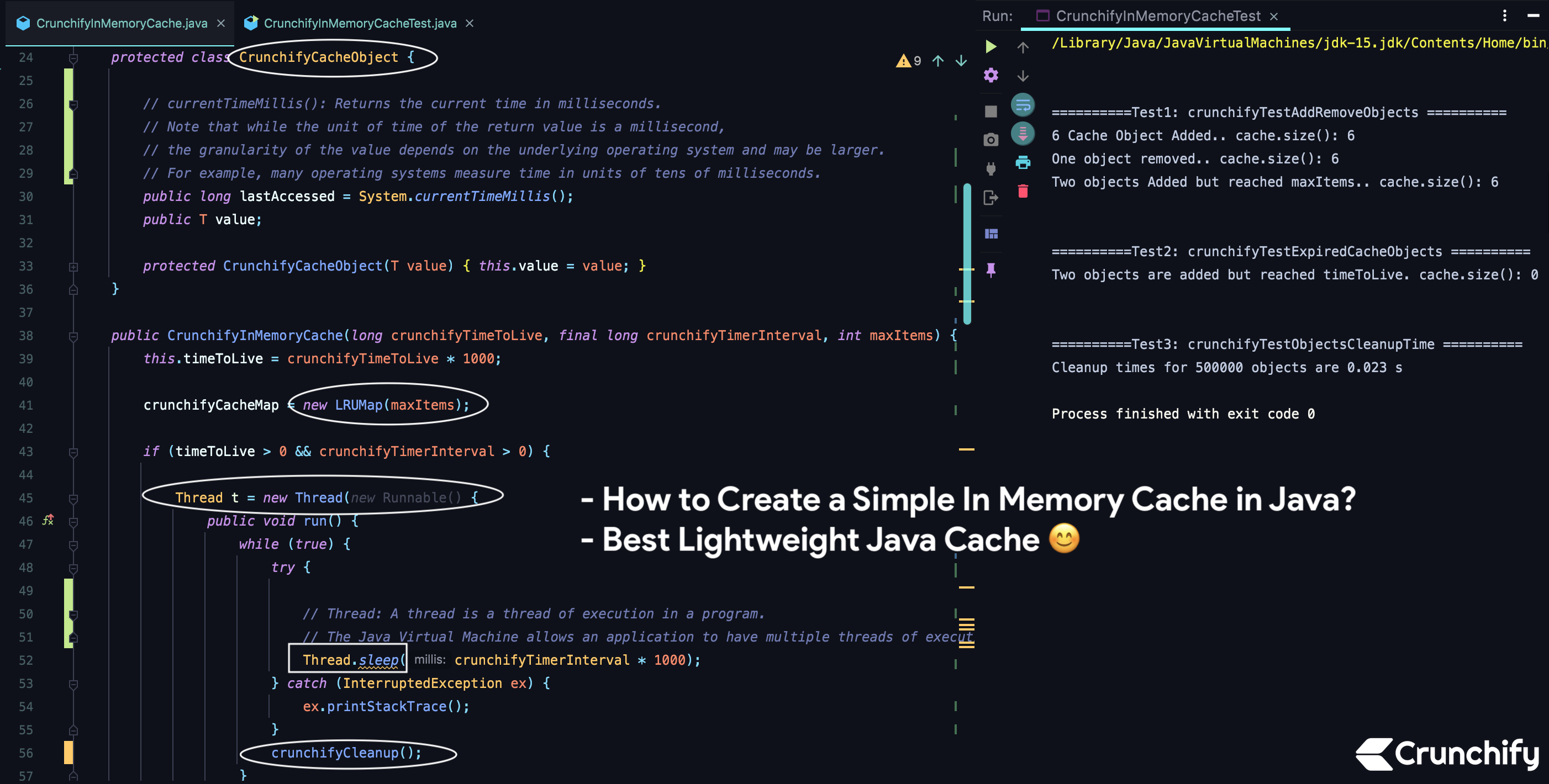 How to Create a Simple In Memory Cache in Java Best Lightweight ...