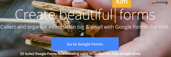 [G Suite] Google Forms Now Allowing users to Upload File from Google Drive, Desktop