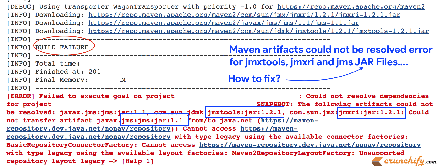 How to Fix Maven Artifacts Could not be Resolved Error