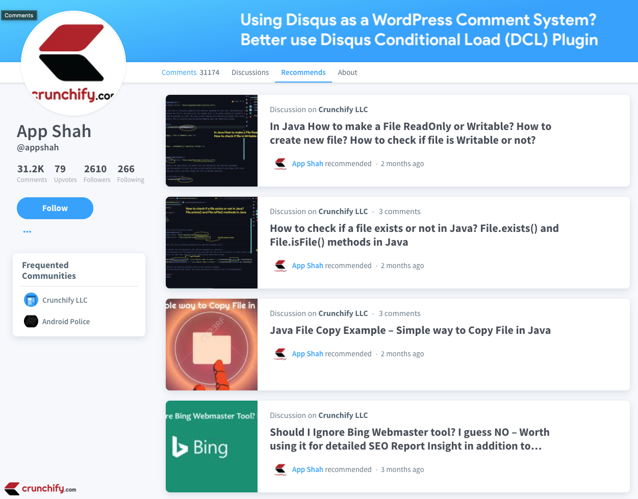 Using Disqus as a WordPress Comment System? Better use Disqus Conditional Load (DCL) Plugin