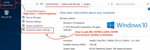 How to Setup, Configure JAVA_HOME and JRE_HOME Environment Variables on Windows?