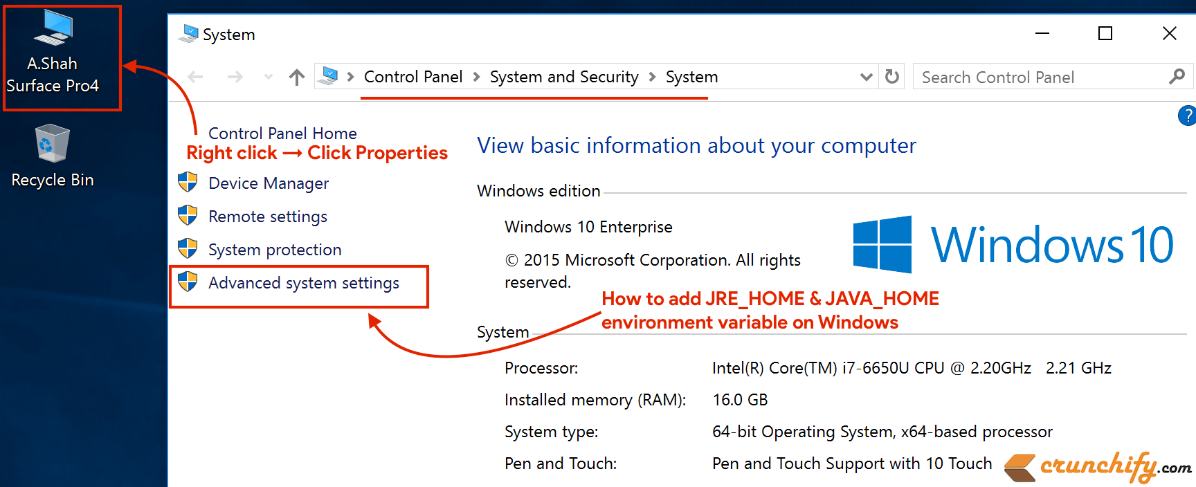 How to Setup, Configure JAVA_HOME and JRE_HOME Environment