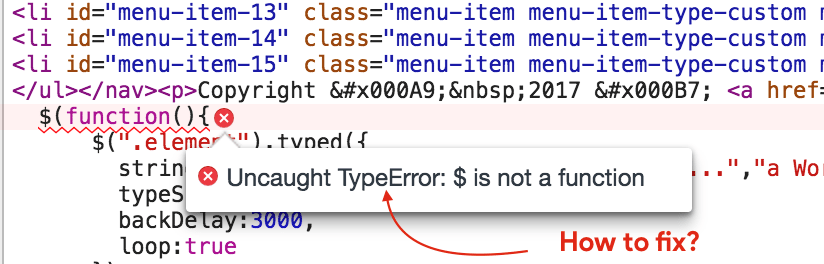 Typeerror $(.).datepicker is not a function wordpress