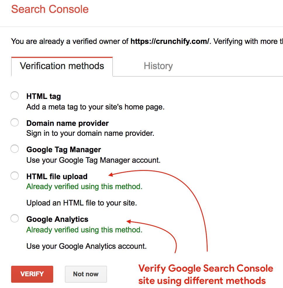 How to Setup Google Search Console (Webmaster Tools) for WordPress