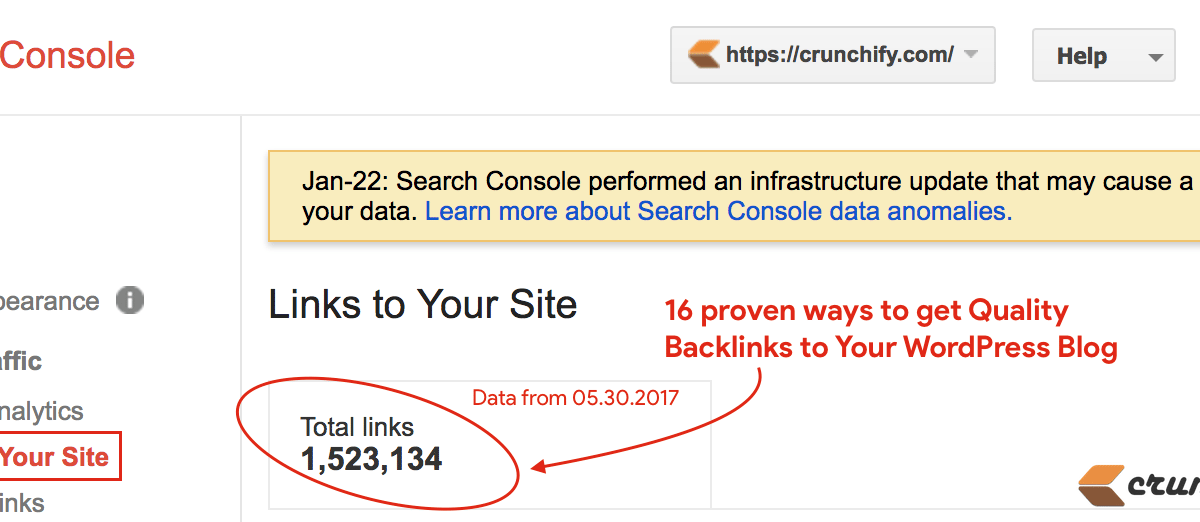 16 proven ways to get Quality Backlinks to your WordPress blog