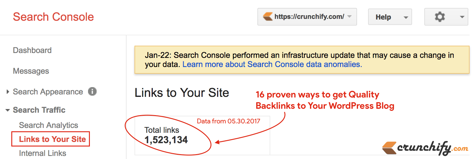 Proven 16 Ways to Get Quality Backlinks to Your Blog - Crunchify Tips