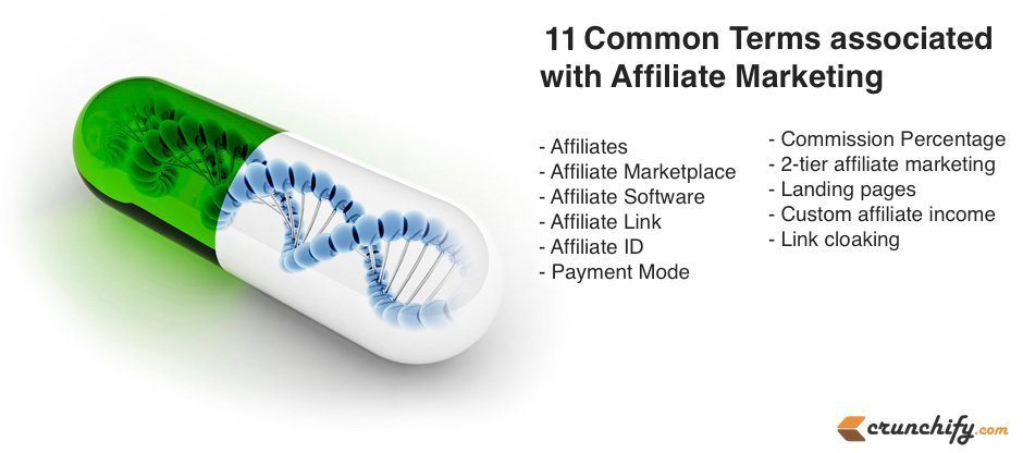 11 Common Terms associated with Affiliate Marketing