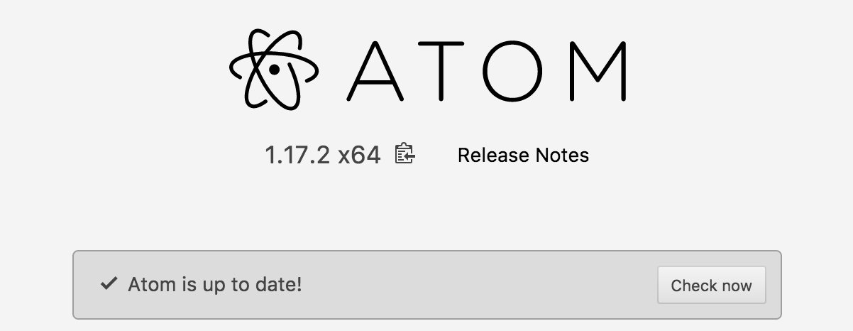 Atom.io latest version 1.17.2 - line wrap issue