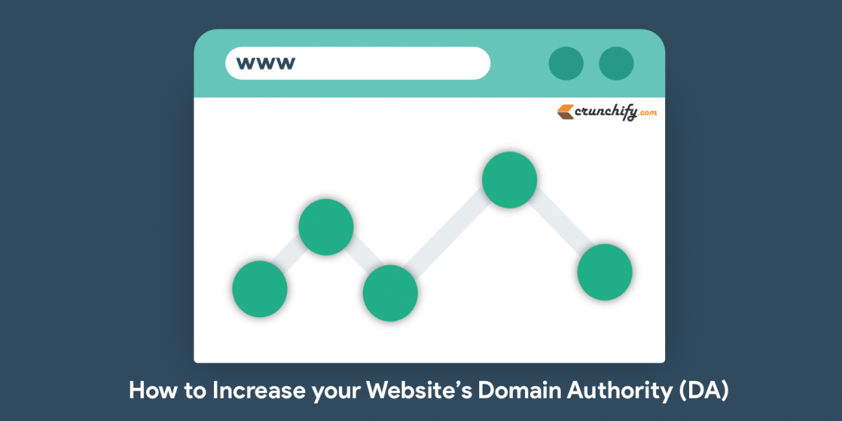 How to Increase your Website's Domain Authority (DA)