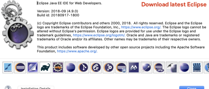 Latest Eclipse 2018-12 R Download