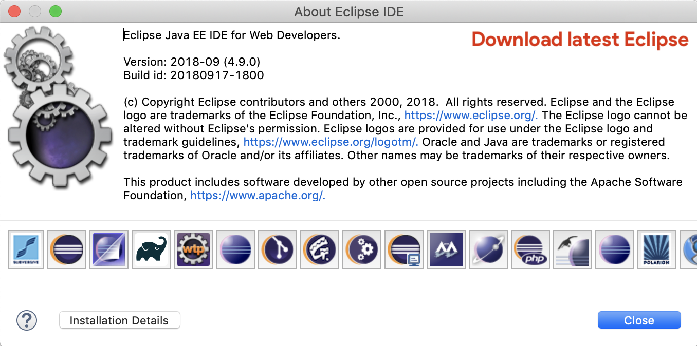 descargar eclipse luna para mac