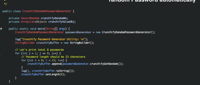 Best way to generate very secure random Password automatically