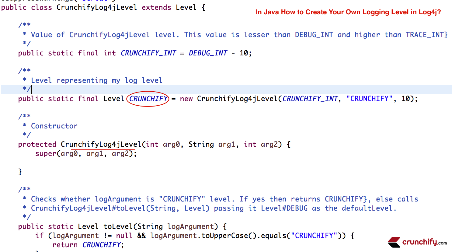 In java how to create your own logging level using log4j how to create your own logging level in log4j configuring log4j baditri Image collections