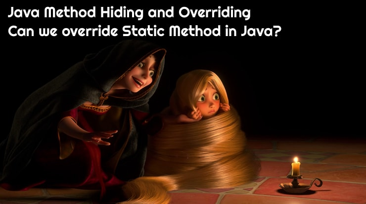 Java Method Hiding and Overriding - Crunchify Tips