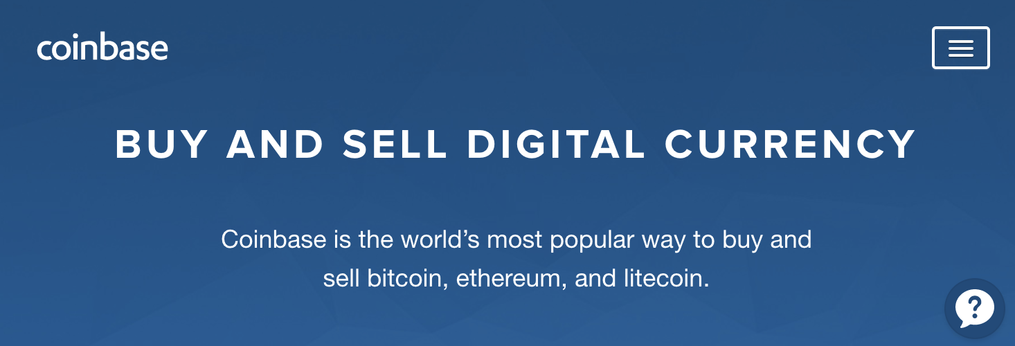 Sign Up for Coinbase