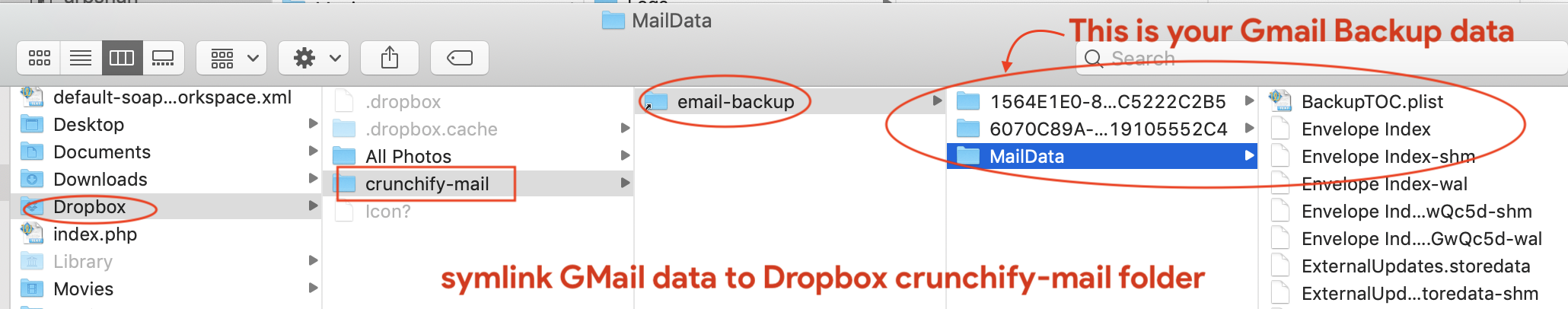 Google Data Backup To Dropbox - Crunchify Tips