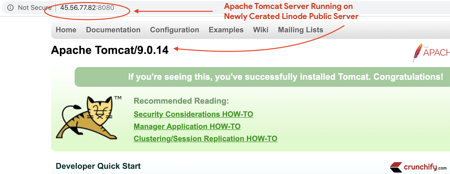 How To Install Setup Apache Tomcat Server On Linux Ubuntu Host On Linode Crunchify