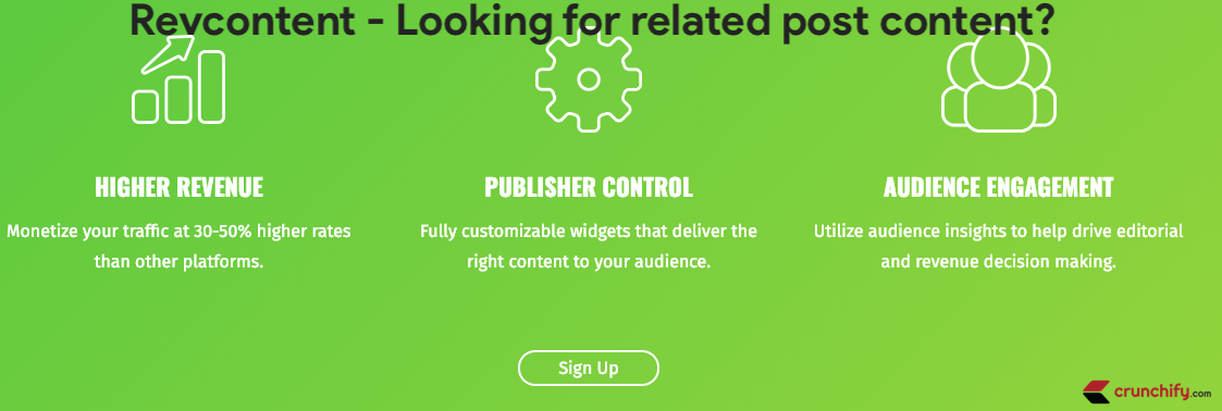 Revcontent - Looking for related post content - it's better for some type of sites