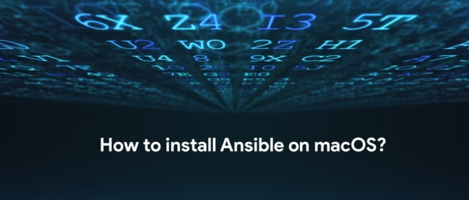 How to install Ansible on Mac OS