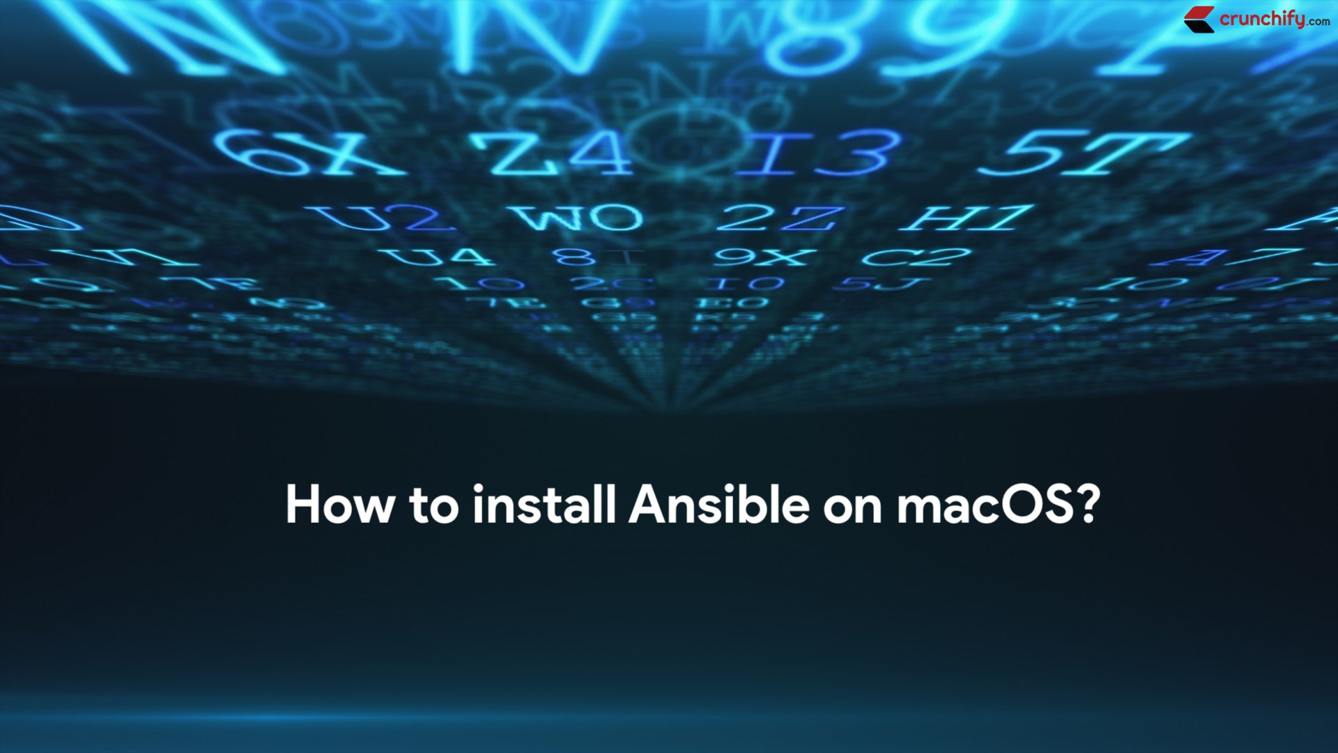 How to install Ansible on macOS? • Crunchify