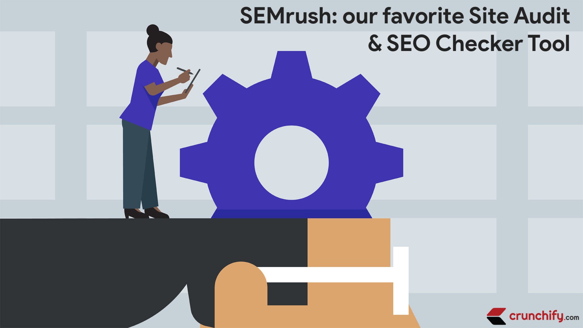 SEMrush - We are loving it - We use it for Crunchify.com