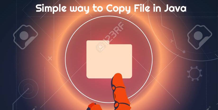 Simple way to Copy File in Java