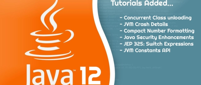 Java 12 - All new stuff - Details by Crunchify