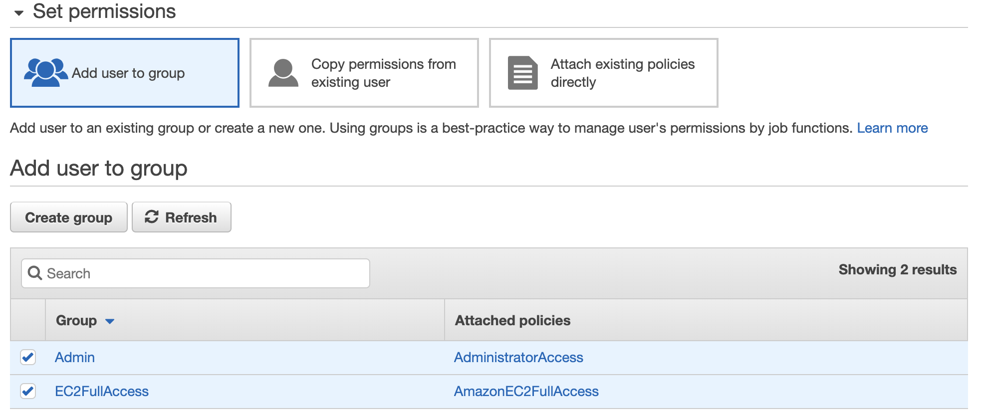 Amazon AWS Admin and EC2 full access - Crunchify Tips