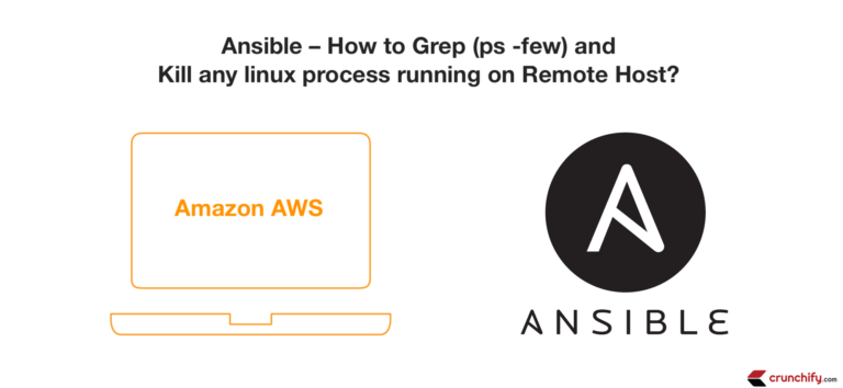 Ansible - How to Grep (ps -few) and Kill any linux process