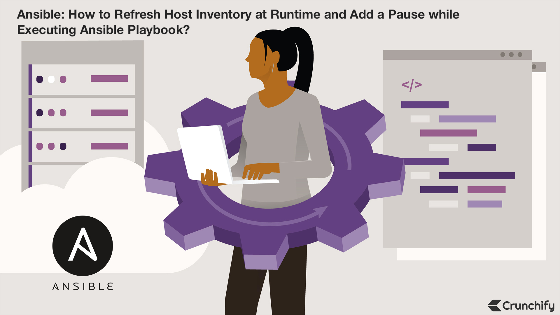 How to Refresh Host Inventory at Runtime and Add a Pause while Executing Playbook