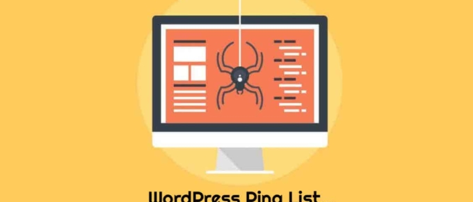 WordPress Ping List - how to index your site faster?