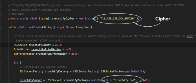 Java SSLSocket with TLS1.3 and TLS_AES_128_GCM_SHA256 Cipher Tutorial