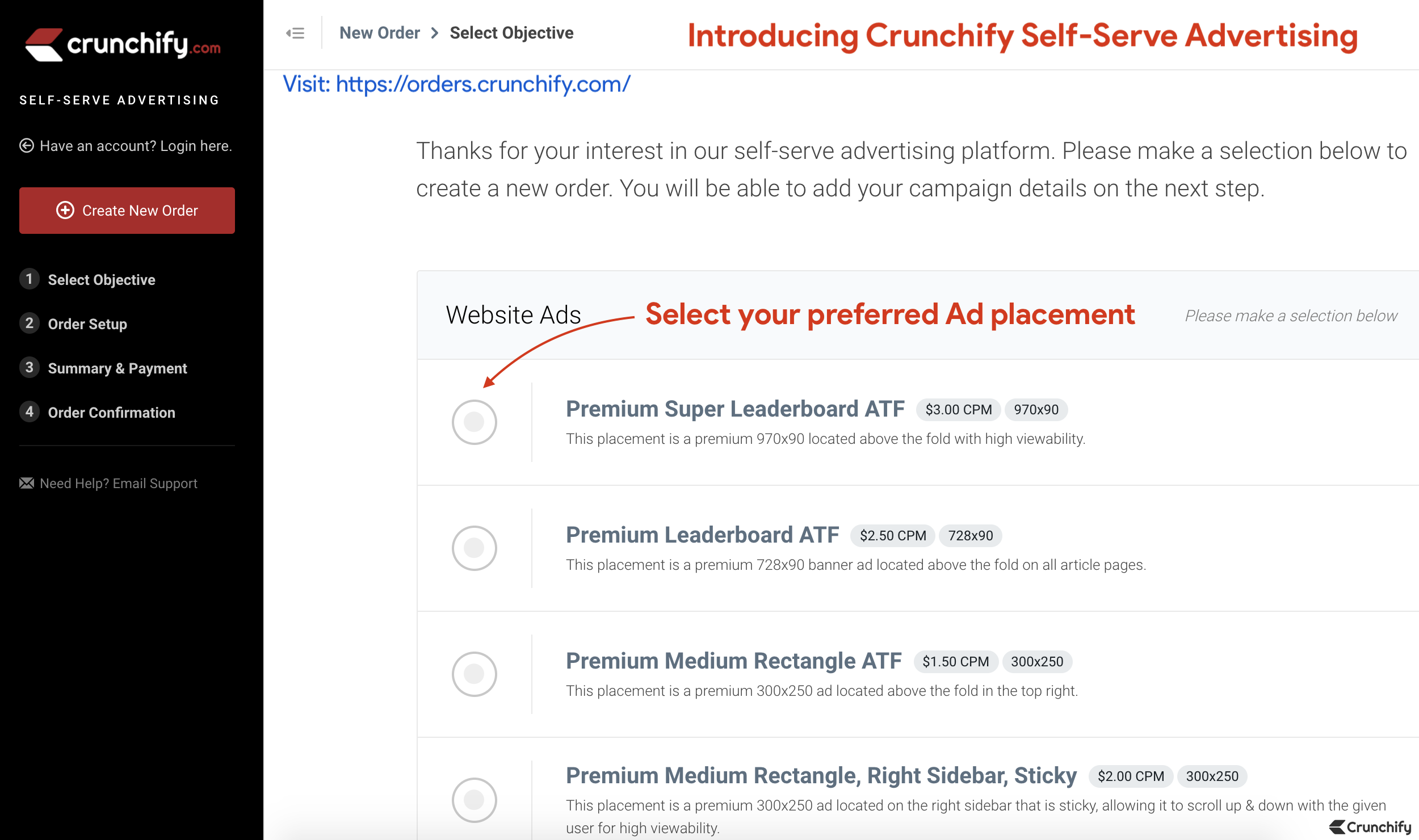 Introducing Crunchify Self-Serve Advertising