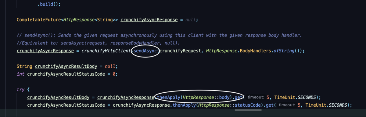 Java Asynchronous HttpClient Overview and Tutorial - sendAsync()