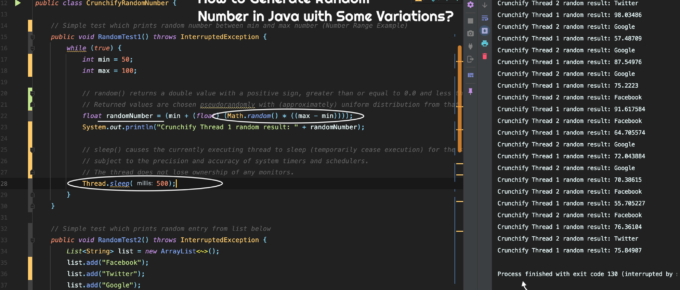 How to Generate Random Number in Java with Some Variations?