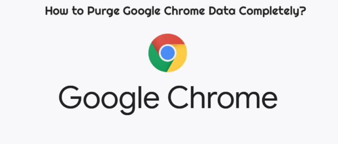How to Purge Google Chrome Data Completely?