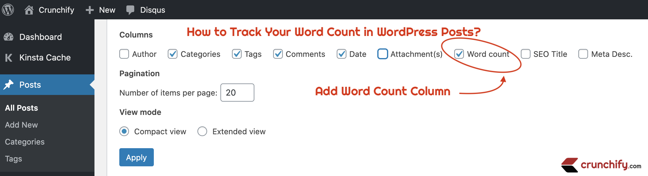 How to Track Your Word Count in WordPress Posts