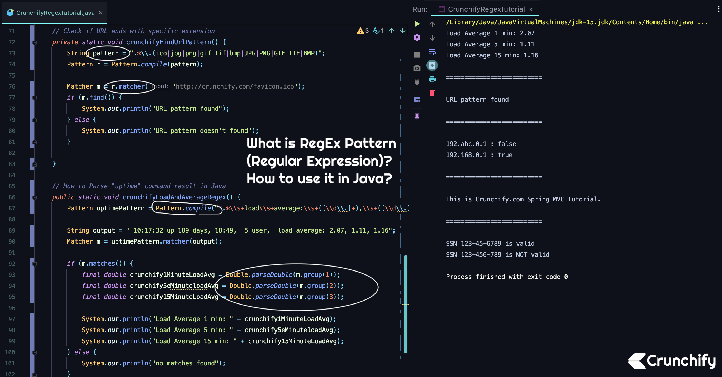 What is RegEx Pattern (Regular Expression)? How to use it in Java?