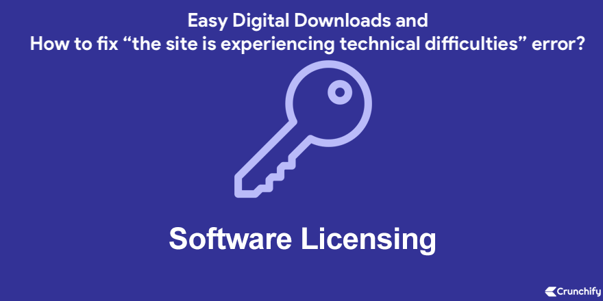 EDD Software Licensing